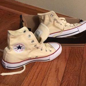 Never worn high top converse